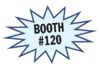 Visit us at booth 120