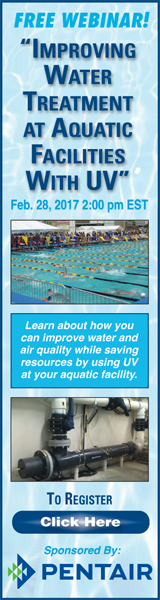Free Webinar! Improving Water Treatment at Aquatic Facilities With UV - Sponsored by Pentair