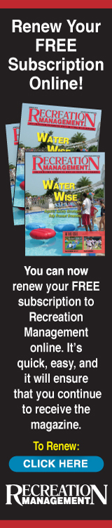Recreation Management - Renew Your FREE Subscription Online!